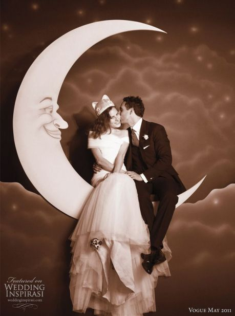 photocall vintage luna