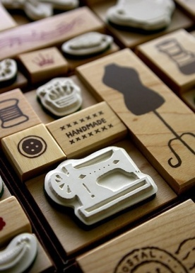 sello scrapbooking máquina de coser
