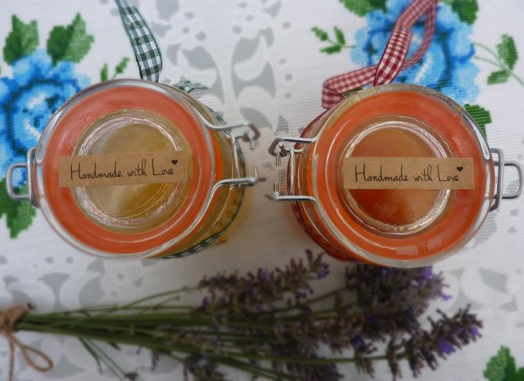 decoración tarros de mermelada casera